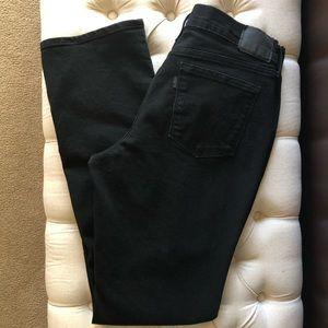 Levi's 505 Mid- Rise Straight Leg Stretch Jeans